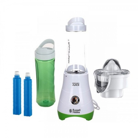 Сокоизстисквачка с блендер и преносими бутилки с охладители Russell Hobbs Explore 21352-56